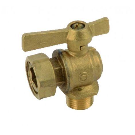 Water meter isolation ball valve angled MF 1/2? 3/4?