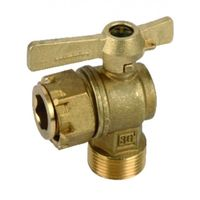Water meter isolation ball valve angled MF 3/4?