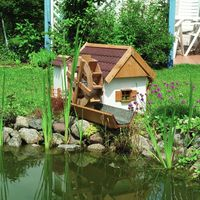 Water Mill - Garden Water Feature - Working Watermill for your Pond