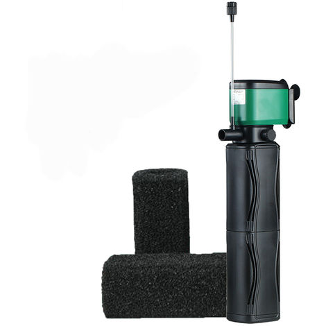 Water pump with replace Multifunction filter sponge Sasicare