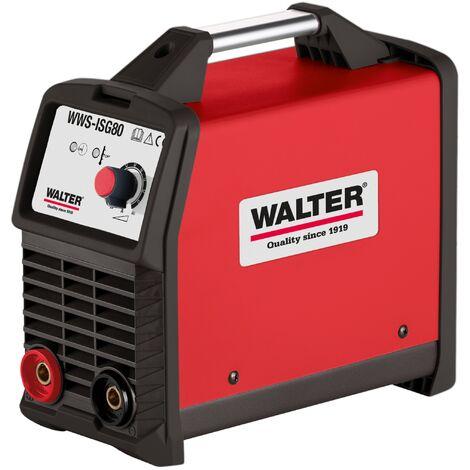 WATER tragbare Inverterschweißgerät, 20-80A, nur 3,1kg schwer, inkl. Zubehör
