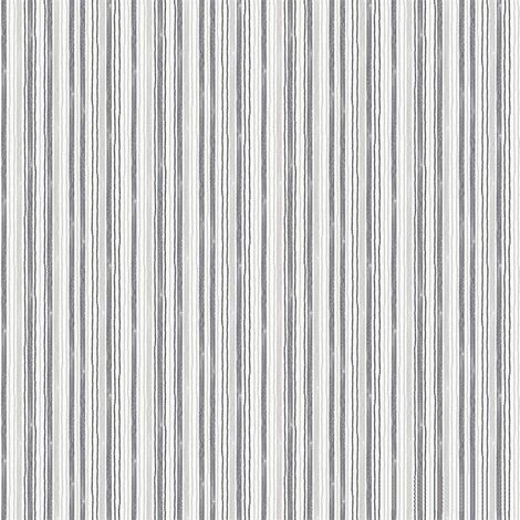 Watercolours Black/ Grey Stripes Wallpaper