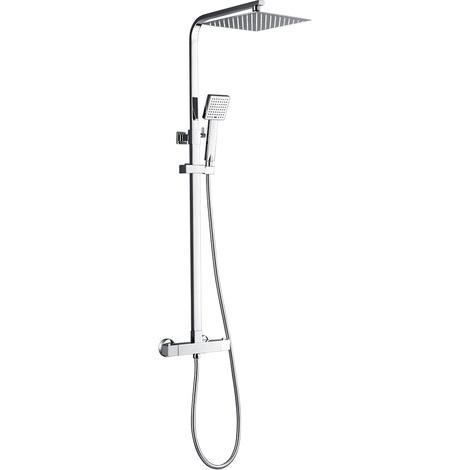 Waterfall Rainfall Shower Panel Tower Shower Shower Column Body Massage Jets Hand Shower Tub Spout Wall Mounted Shower Panel