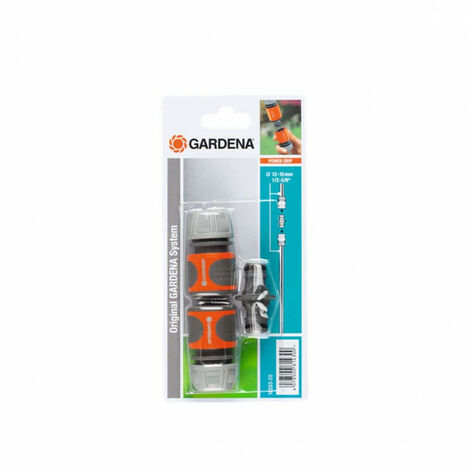 """Watering kit 13 mm 1/2"""" and 15 mm 5/8"""" - 2 connections - 1 GARDENA connector - 18283-20"""