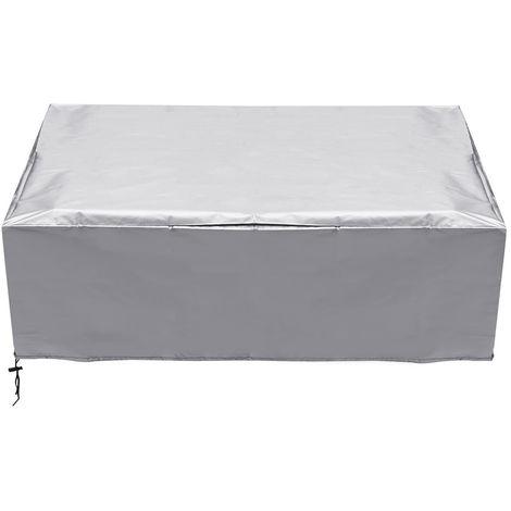 Waterproof 2 Garden Bench Furniture 3 Seating Set Outdoor Rattan Seat Cover Hasaki