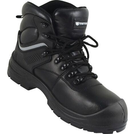 Tuffsafe Waterproof Boot Black S3SRC Size 4
