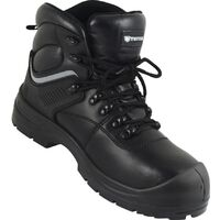 Waterproof Black Safety Boots