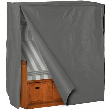 Waterproof cover for beach chair - rain protector, outdoor waterproof cover, weather protection - grey - grey