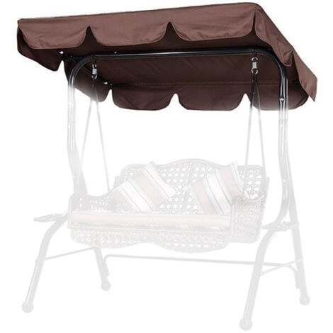 """main image of """"Waterproof Cover Garden Canopy Swings Replacement Outdoor Sun Shade Patio Swing Cover Case Chairs Hammock Cover Pouch"""""""