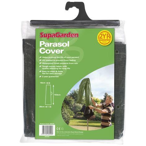 Waterproof Garden Parasol Cover SupaGarden Outdoor Parasol Cover Brand New