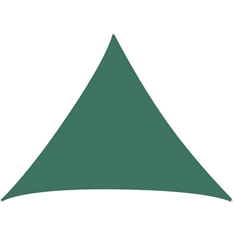 Waterproof Large Shade Sails Awning Canopy Cover Green Triangle 3M