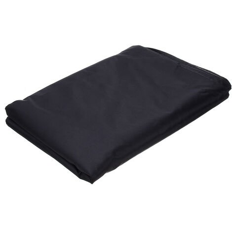 Waterproof Outdoor Furniture Cover 200x170x125cm Black 3-Seater Swing Chair Full Rain Cover Hammock Cover UV Protector Dust Cover