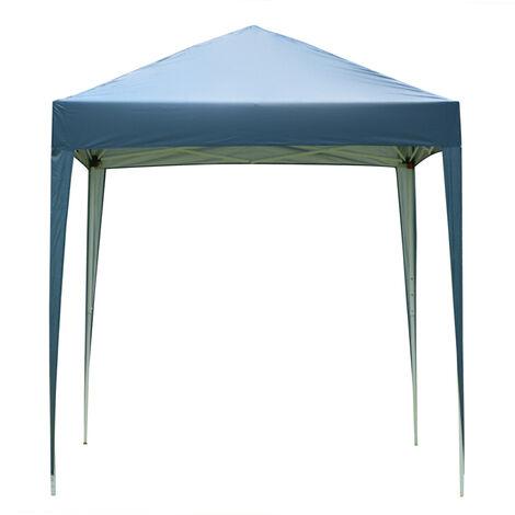 "main image of ""Waterproof PE Gazebo, 2 x 2M Portable Heavy Duty Canopy Tent for Garden Market Stalls Party Wedding Beach Outdoor (Blue)"""