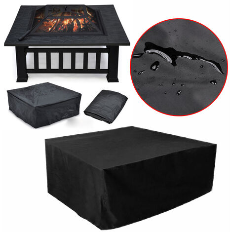 Waterproof Rattan Garden Outdoor Table Chairs Sofa Furniture Set Cover Shelter