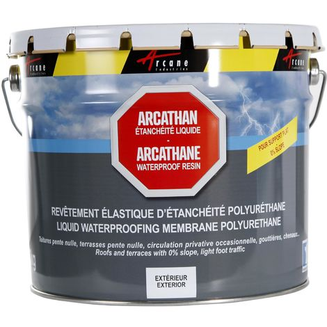 ARCATHANE - Waterproof flat roofs and terraces | Grey - 4 kg