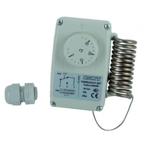 Waterproof room thermostat type ert