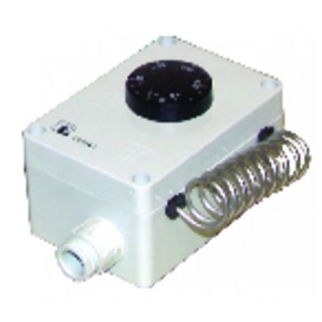 Waterproof room thermostat type ts 9501/02