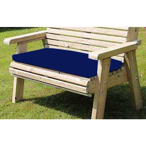 Waterproof Seat Pad - Triple - Navy Cushion