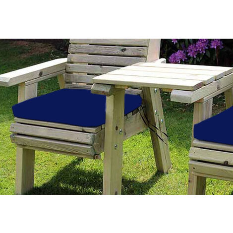 Waterproof Seat Pads - Single Navy Cushion