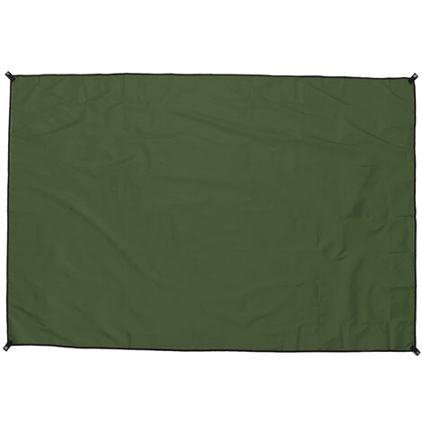 Waterproof Tent Tarp Awning Sun Shade Rain Shelter green 210x150cm