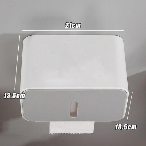 Waterproof Toilet Paper Holder Box Bathroom Wall Mounted Tissue Roll Storage