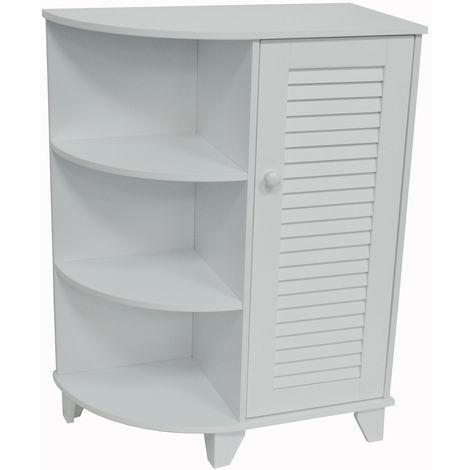 WATSONS - Bathroom / Kitchen Storage Cabinet - White
