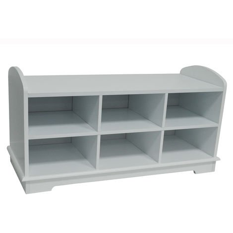 WATSONS - Hallway / Bedroom Shoe Storage Bench - White