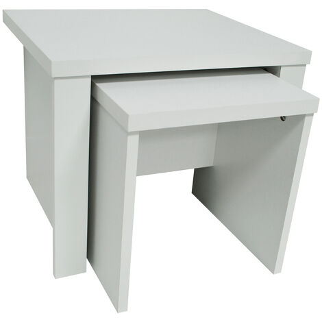 WATSONS - Nest of Two Tables - White