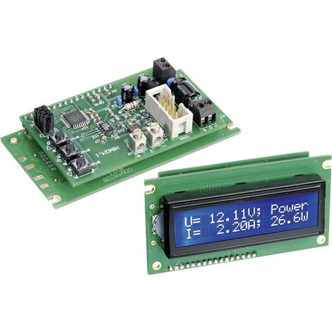 Wattmètre kit monté H-Tronic 1190012 9 V/DC, 12 V/DC 1 pc(s)