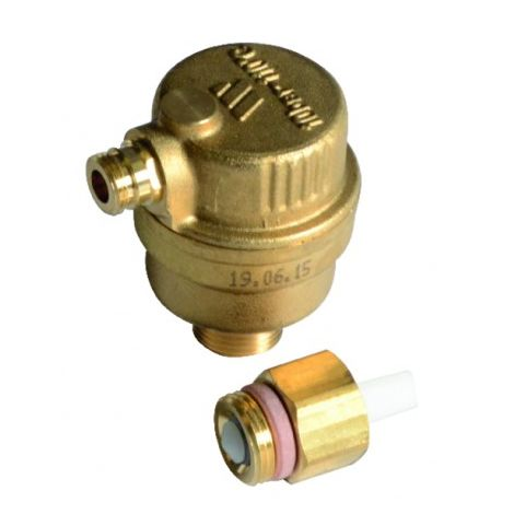 WATTS automatic drain valve with valve isolation - GEMINOX : 87168246350