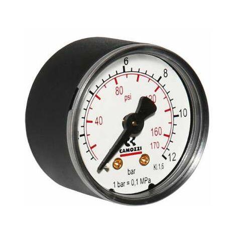 """Watts Camozzi Manometer Anschluss hinten 0-12 bar 40mm 1/8""""10007049"""