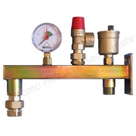 WATTS GAG groupe de connexion vasculaire, Support pour vases d'expansion de 8 à 50 litres.
