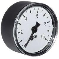 """Watts Manometer Anschluss hinten 0-10 bar 50mm 1/4"""" selbstdichtend 10006923"""