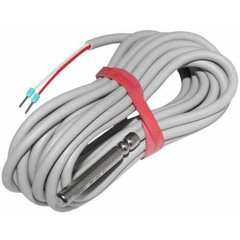 Watts PT1000 Speicherfühler 3m Kabel (max 105°C) Fühler für Solar Regler Solarfühler PT 1000