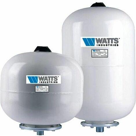 Watts:vase d expansion sanitaire Capac.8litres-Raccord M3/4-Diam 200mm Hauteur 280mm. Pregonflage a 3 bar