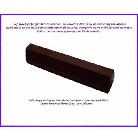 Wax stick for wood and laminate. -Acajou Clear Color. Best Of The Elimination Of Defects!