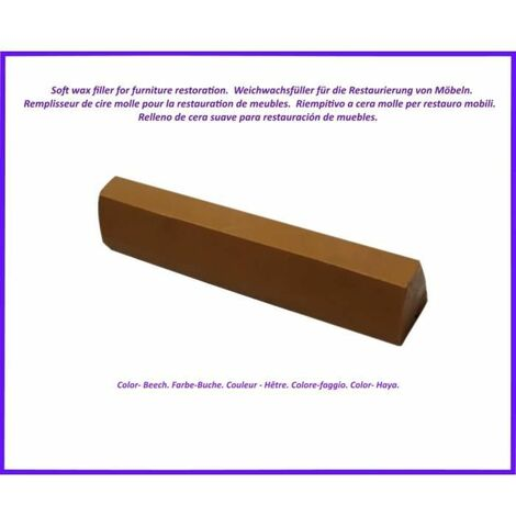 Wax stick for wood and laminate. -Beech Color. Best Of The Elimination Of Defects!