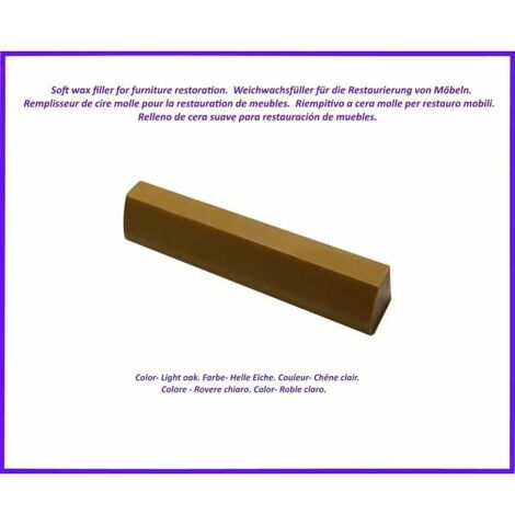 Wax stick for wood and laminate. -Chene Clear Color. Best Of The Elimination Of Defects!