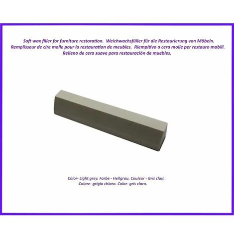 Wax stick for wood and laminate. -Grey Clear Color. Best Of The Elimination Of Defects!