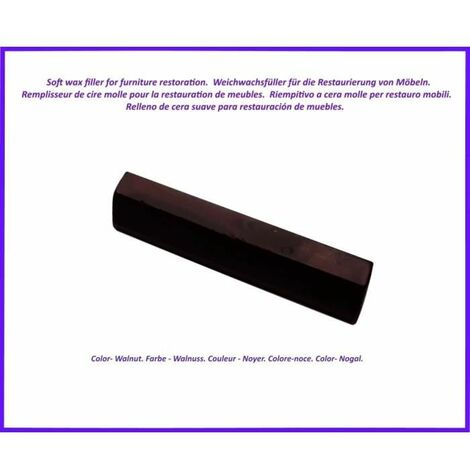 Wax stick for wood and laminate. -Walnut Color. Best Of The Elimination Of Defects!