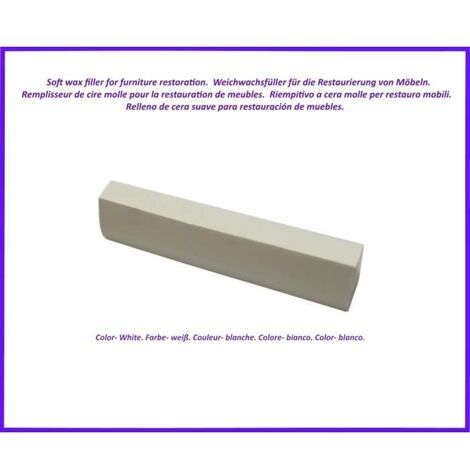 Wax stick for wood and laminate. White Colour. Best Of The Elimination Of Defects!