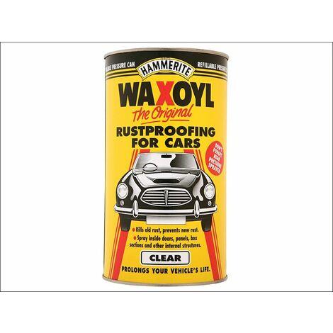 Waxoyl Clear Pressure Can 2,5 Litre (HMMWAXOCLPC)