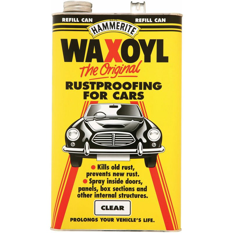 Image of 5092941 Waxoyl Refill Can Clear 5 Litre - Hammerite