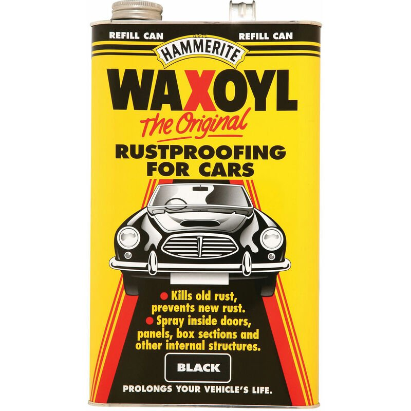 Image of 5092949 Waxoyl Refill Can Black 5 Litre - Hammerite