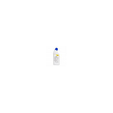 WC-1: Desincrustante inodoros. Potente limpiador de carácter ácido para limpieza de inodoros. 750 ml