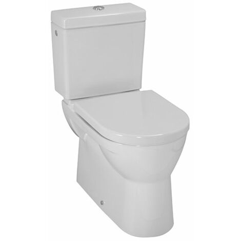 WC à chasse plate à poser PRO, sortie horizontale/verticale, 360x670, Coloris: Manhattan - H8249590370001