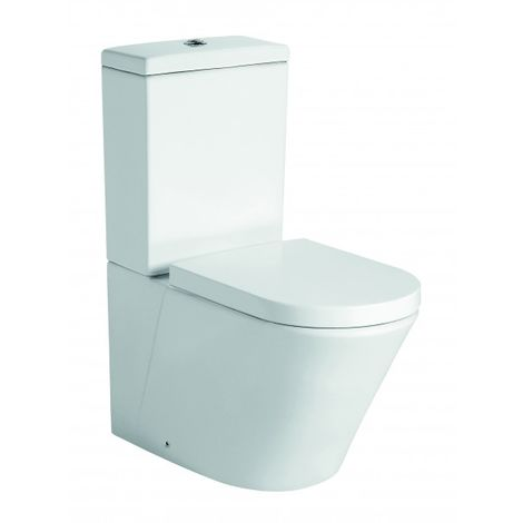 WC à poser CT1088 - raccordement pour l'eau en bas - avec abattant Soft-Close
