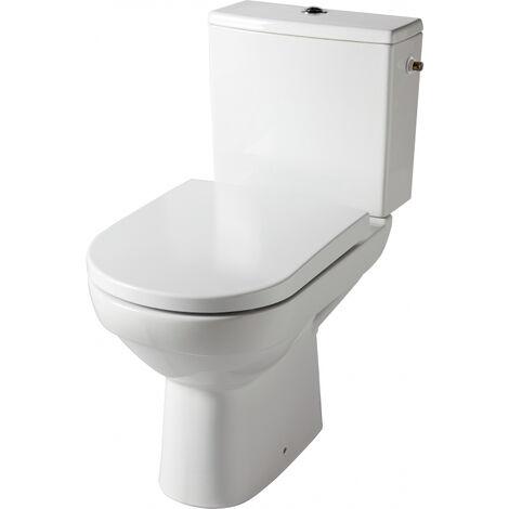 WC à poser sans bride sortie horizontale