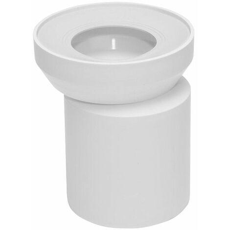 WC-Anschluß Stutzen außermittig