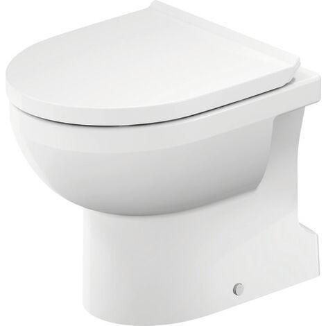 WC autonome Duravit DuraStyle Basic Duravit Rimless®, sortie verticale, pour une alimentation en eau variable, Coloris: Blanc - 2184010000